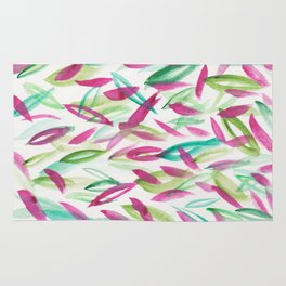 9   | Watercolor Patterns Abstract 181212 Rug
