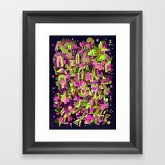 Schema 4 Framed Art Print