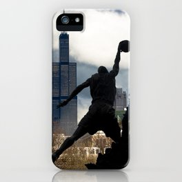 Fly Like An Eagle iPhone Case