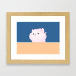 Lovely Cat Framed Art Print