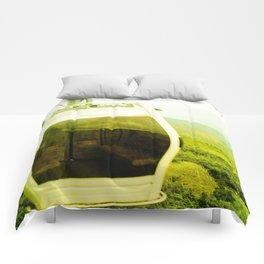 Cableway santandereano in green. Comforters