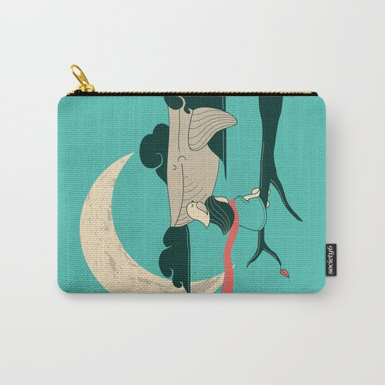 Did you see the whale in flight Carry-All Pouch