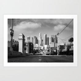 Downtown Los Angeles California Art Print