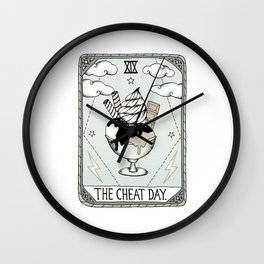 The Cheat Day Wall Clock