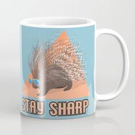 Stay Sharp Porcupine Coffee Mug