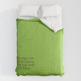 without trees series Comforters