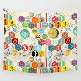 Math in color Wall Tapestry