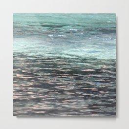 Water Like Glass Metal Print