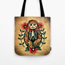Sugarskull matryoshka Tote Bag