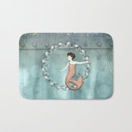 Mermaid Wreath Bath Mat