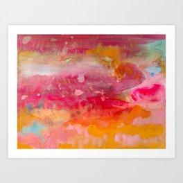 Upshift Art Print