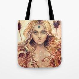 Zodiac Stagittarius Tote Bag