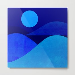Abstraction_Moonlight Metal Print