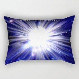 GAMMA RAY BURST. Rectangular Pillow