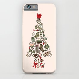 A Cozy Christmas Tree iPhone Case
