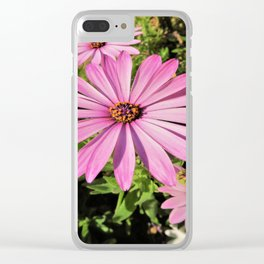flowertime Clear iPhone Case