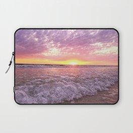 a tropical sunset Laptop Sleeve