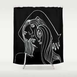 Double-faced Shower Curtain