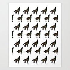 Wolf Call Art Print