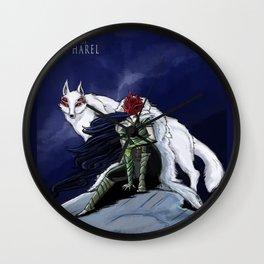 Princess Fen'harel Wall Clock