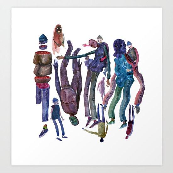 gang Art Print