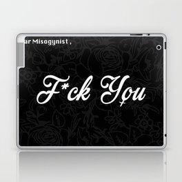 Dear Misogynist Laptop & iPad Skin