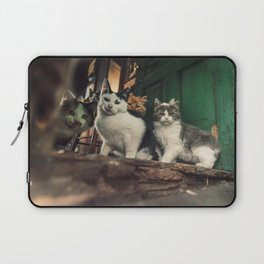 Family of Cats Laptop Sleeve