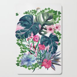 Tropical Plants Cutting Board