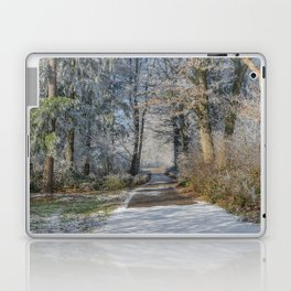 Enchanted Winter Forest Laptop & iPad Skin