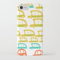 cars iPhone & iPod Cases featuring cars by mummysam