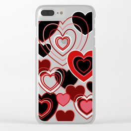 Loopy Love Clear iPhone Case