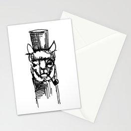 Alpaca Gentleman Stationery Cards