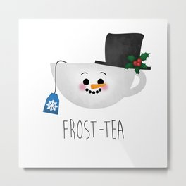 Frost-tea Metal Print