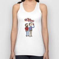tool Tank Tops featuring tool time. by dann matthews
