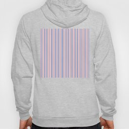 Rose Quartz and Serenity stripes Hoody