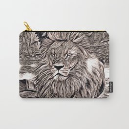 Rustic Style - Lion Carry-All Pouch