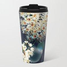 Sunlight On Laurel Blossoms Metal Travel Mug