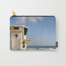 Laguna Beach Lifeguard Tower Carry-All Pouch