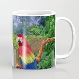 Macaw Tropical Parrots Coffee Mug