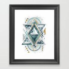 Eyesosceles Framed Art Print