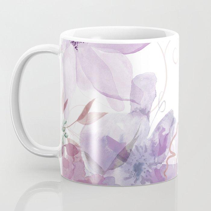 Rosie Outlook - muted purples Coffee Mug