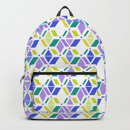 Fresh , retro , abstract , geometric Backpack