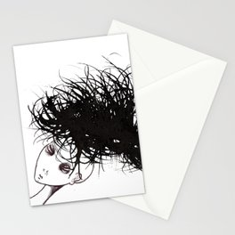 Hair 3 Stationery Cards