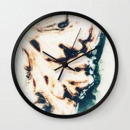 LEAF - WHITE Wall Clock