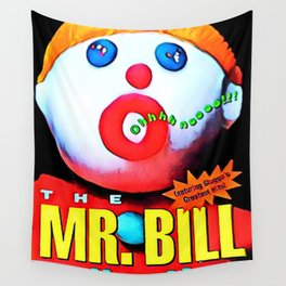 Mr. Bill - Graphic 2 Wall Tapestry