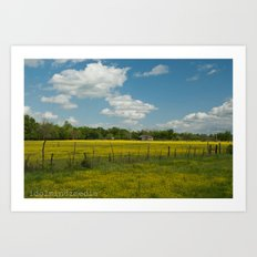 Country Time Art Print