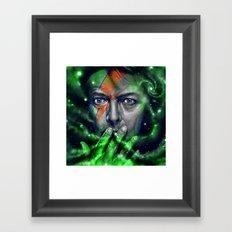 D A V I D Framed Art Print