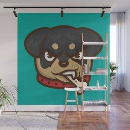 Rottie Pupper Wall Mural