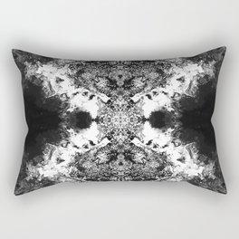 Black Gatria- Abstract Costellation Painting. Rectangular Pillow
