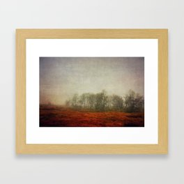 Stillness 2013 Framed Art Print